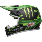 Matte Black/Green MX-9 MIPS McGrath Showtime Replica Helmet - 7108876