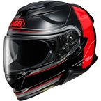 Black/Red GT-Air II Crossbar TC-1 Helmet - 0119-1101-06