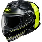Black/Hi-Vis Yellow GT-Air II Crossbar TC-3 Helmet - 0119-1103-06