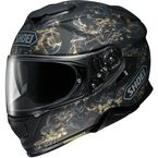 Matte Black/Gold/Silver GT-Air II Conjure TC-9 Helmet - 0119-1209-06