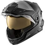 Matte Black Mission AMS Snow Helmet w/Electric Shield - 512384#