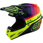 Navy/Flo Yellow Mirage LE SE4 Carbon Helmet - 102580025