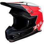 Red/White FI Hysteria Helmet - 0110-6456