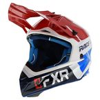 Red/White/Navy/Blue Helium Race Division Helmet - 200612-2001-16