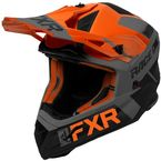 Orange/Black/Charcoal Helium Race Division Helmet - 200612-3010-10