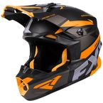 Black/Charcoal/Orange Blade 2.0 Force Helmet - 200605-1030-10