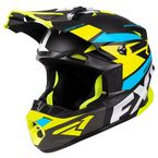 Black/Hi-Vis/Blue Blade 2.0 Force Helmet - 200605-6540-10