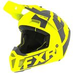 Hi-Vis/Charcoal Clutch CX Helmet - 200608-6508-13