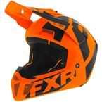 Orange/Black Clutch CX Helmet - 200608-3010-13