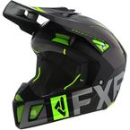 Black/Charcoal/Lime Clutch EVO Helmet - 200609-1070-10