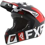 Red/Black/White Clutch EVO Helmet - 200609-2010-13
