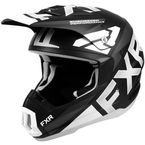 Black/White Torque Team Helmet - 200621-1001-07