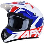 Red/White/Blue FX-17 Helmet - 0110-6480