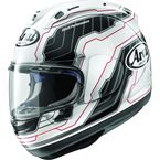 White/Black Corsair-X Mamola Edge Helmet - 820804