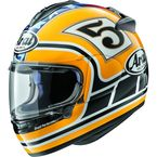 Yellow DT-X Edwards Legend Helmet - 820663
