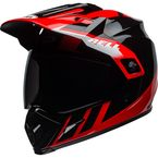 Black/Red/White MX-9 Adventure Mips Dash Helmet - 7110278