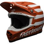 Matte Red/White Moto-9 Mips Fasthouse Signia LE Helmet - 7118282