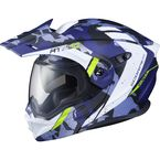 Matte Blue EXO-AT950 Outrigger Helmet - 95-1617