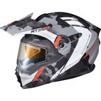 Matte Grey EXO-AT950 Outrigger Snow Helmet w/Electric Shield - 95-1605-SE