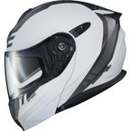 Matte White/Dark Gray EXO-GT920 Unit Modular Helmet - 92-1655