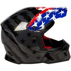 Black/Red/White/Blue F5 Patriot Helmet - ECE Only - 3910-000-140-012