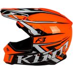 Strike Orange F3 Stark Helmet - ECE-Only - 3769-001-140-004
