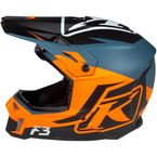 Strike Orange F3 Tectonic Helmet - ECE-Only - 3769-001-140-007