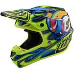 Navy/Yellow Eyeball SE4 Composite Helmet - 101156014