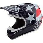 Red/White/Blue Freedom SE4 Polyacrylite Helmet - 109142004
