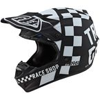 Black/White Checker SE4 Polyacrylite Helmet - 109044004