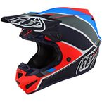 Orange/Navy Matte Beta SE4 Polyacrylite Helmet - 109670015