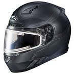 Semi-Flat Black/Gray CL-17 Combat MC-5SF Helmet w/Frameless Electric Shield - 065-756