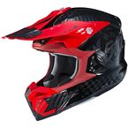 Black/Red i50 Artax MC-1 Helmet - 1310-913