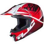 Youth Red/Black/White CL-XY II Ellusion MC-1 Helmet - 298-914