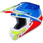 Blue/Red/White/Green CS-MX 2 Ellusion MC-23 Helmet - 339-233