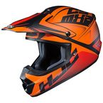 Semi-Flat Orange/Black CS-MX 2 Ellusion MC-7SF Helmet - 339-774