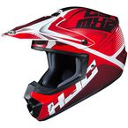 Red/Black/White CS-MX 2 Ellusion MC-1 Helmet - 339-912