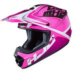 Pink/White/Black CS-MX 2 Ellusion MC-8 Helmet - 339-983