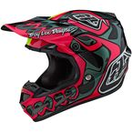 Pink/Flo Yellow Skully Limited Edition SE4 Composite Helmet - 101801004