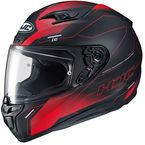 Semi-Flat Red/Black i10 Taze MC-1SF Helmet - 1508-714