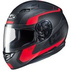 Semi-Flat Black/Red CS-R3 Dosta MC-1SF Helmet - 150-714