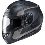 Semi-Flat Black/Gray CS-R3 Dosta MC-5SF Helmet - 150-754