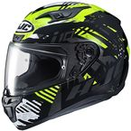 Hi-Viz/Black/White i10 Fear MC-3H Helmet - 1504-933