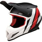 Black/Red/White Rise Evac Helmet - 0110-6639