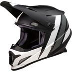 Black/White/Gray Rise Evac Helmet - 0110-6669