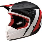 Youth Black/Red/White Evac Helmet - 0111-1313