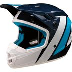 Youth Blue/White Evac Helmet - 0111-1318