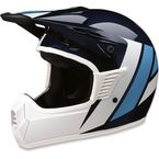 Childs Blue/White Evac Helmet - 0111-1332