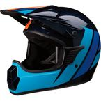 Childs Navy/Blue/Orange Evac Helmet - 0111-1340