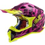 Purple/Hi-Viz Subverter Troop Helmet - 470-1464
